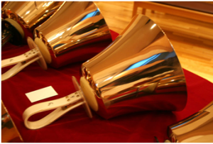 team-building using handbells