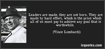Vince Lombardo quote leadership
