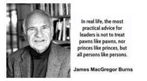 leadership Guru James MacGregor Burns