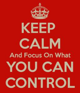 Keep Calm Control